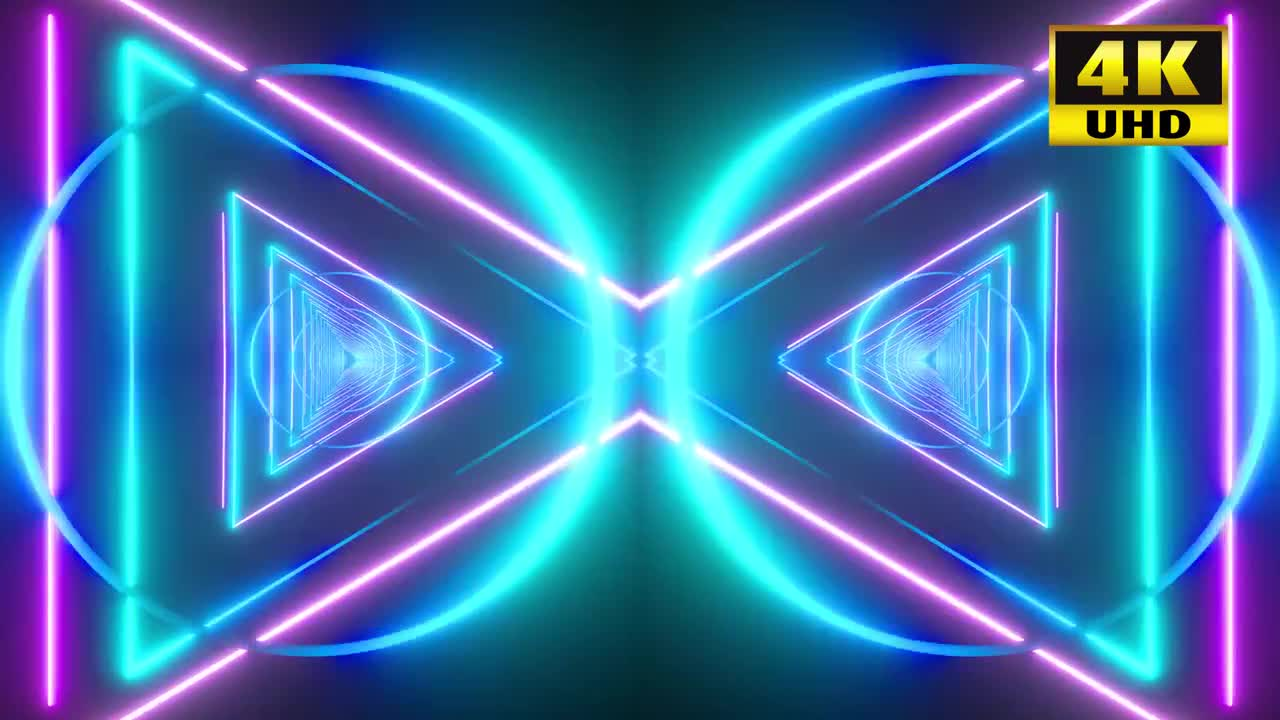 Triangles VJ Loop Pack - Stock Motion Graphics   Motion Array