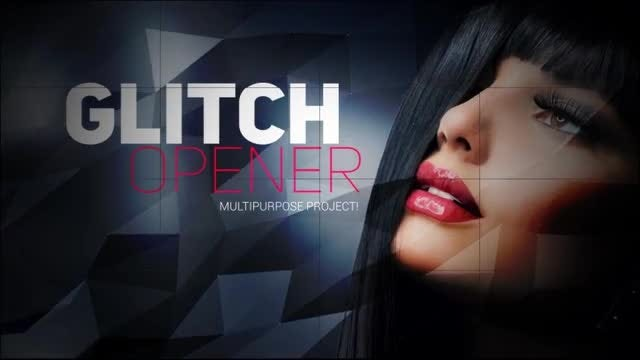 Multipurpose Glitch Opener: After Effects Templates