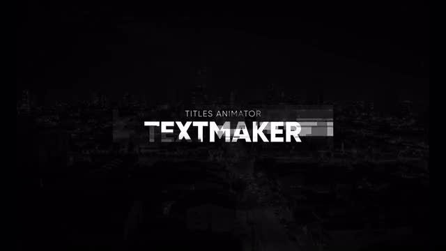 Titles Animator - Motion Flow V2: After Effects Templates