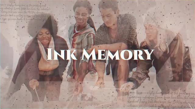 Ink Memory: After Effects Templates