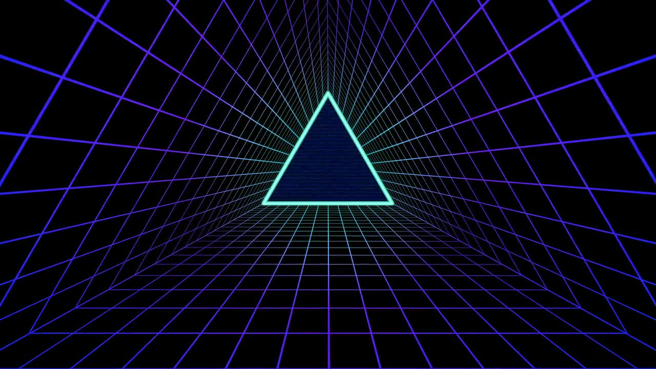 80's Futuristic Background - Stock Motion Graphics | Motion