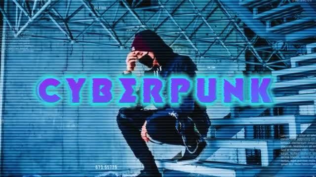 Cyberpunk Intro: Premiere Pro Templates