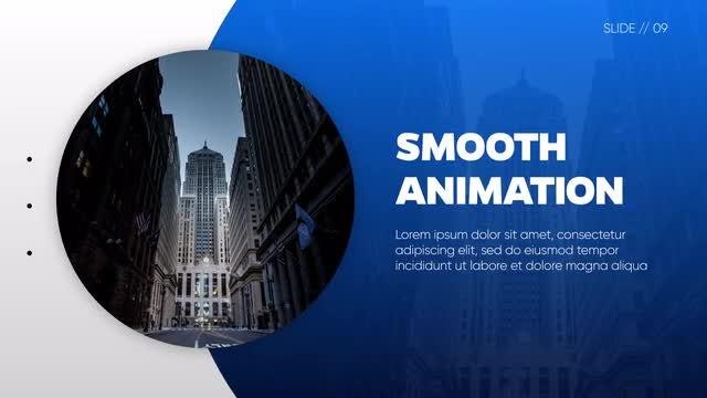 Slideshow - Gradient Geometry: Premiere Pro Templates
