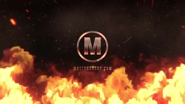 Epic Fire Logo: After Effects Templates