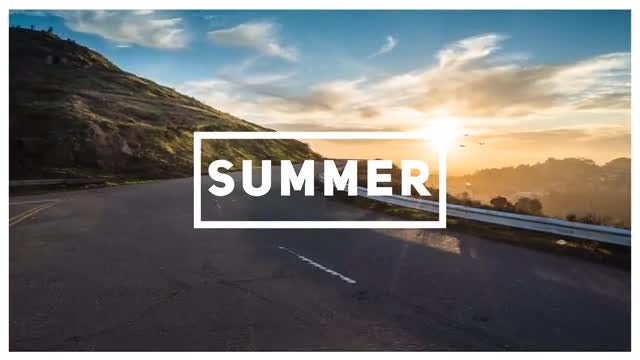 Fast Summer Opener: After Effects Templates