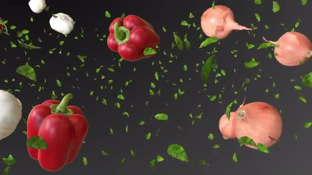 Food In Motion: Stock Motion Graphics