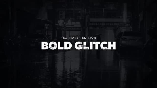Titles Animator - Bold Glitch: Final Cut Pro Templates