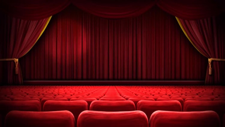 Empty Theater: Stock Motion Graphics