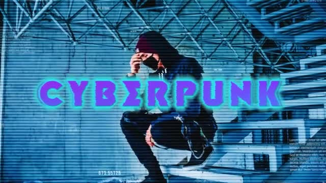 Cyberpunk Intro: After Effects Templates