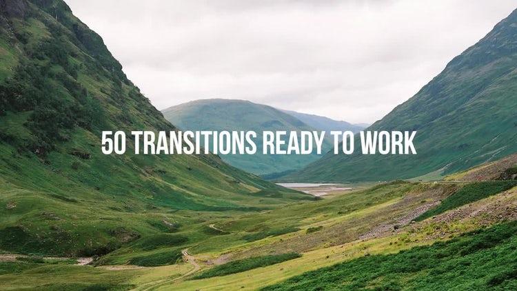 Universal Parallax Transitions: Premiere Pro Templates