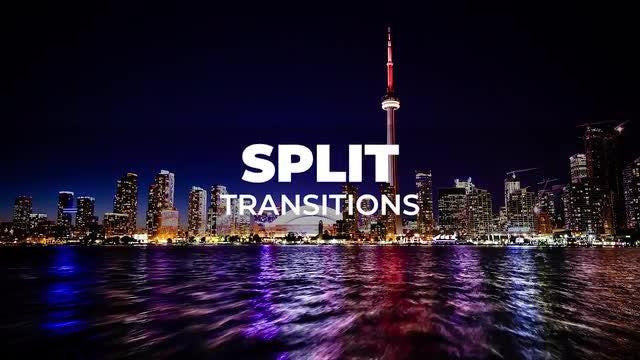 Split Transitions 2: Premiere Pro Presets