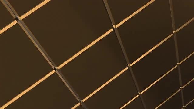 Golden Cube: Stock Motion Graphics