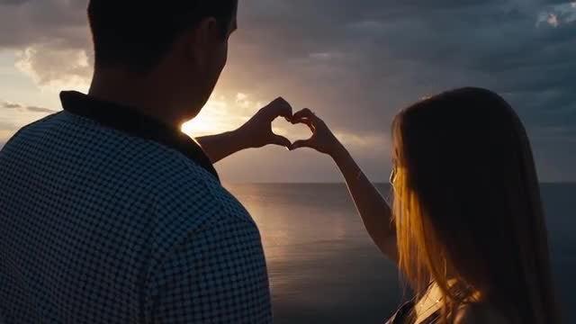 Heart Hands: Stock Video