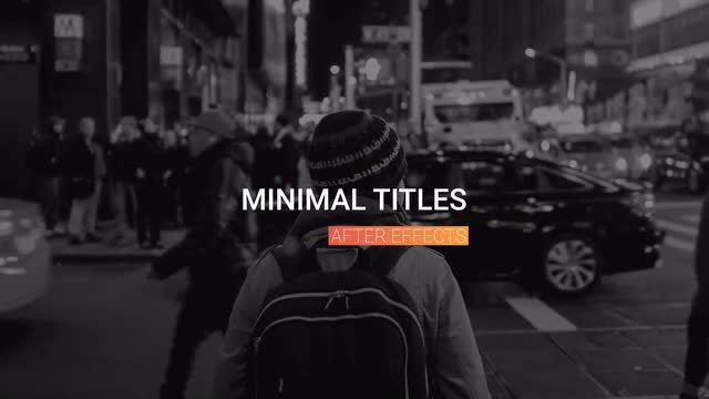 10 Animated Titles: After Effects Templates