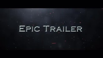 The Epic Trailer: After Effects Templates