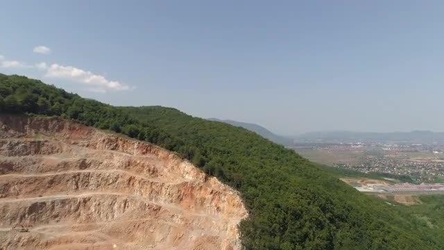 Quarry Panorama: Stock Video