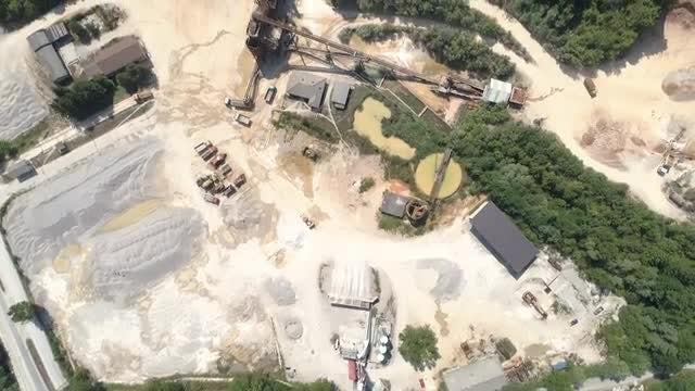 Quarry Aerial HD: Stock Video