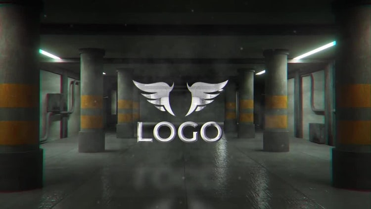 Garage Logo Reveal: After Effects Templates