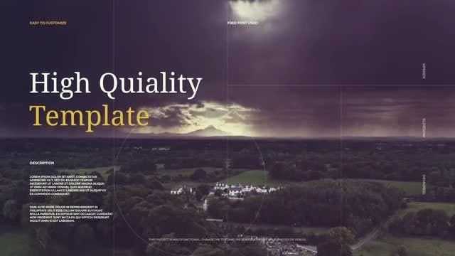 Elegant Cinematic Demo Reel: Premiere Pro Templates