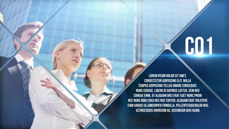 Clean And Simple Corporate: After Effects Templates