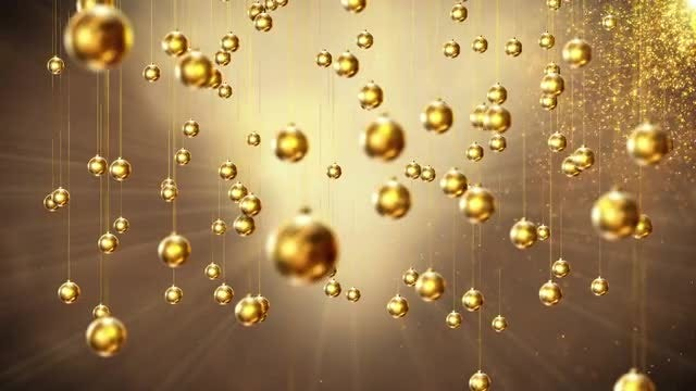 Gold Ornaments: Stock Motion Graphics