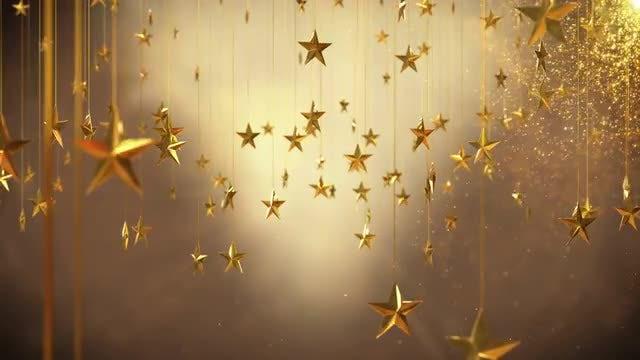 Christmas Stars: Stock Motion Graphics
