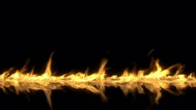 Fire Trail: Stock Motion Graphics