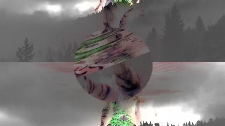 Glitch Horror Transitions: Premiere Pro Templates