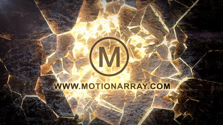 Epic Shatter Logo Reveal: After Effects Templates