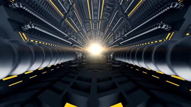 Space Tunnel VJ Loop: Stock Motion Graphics