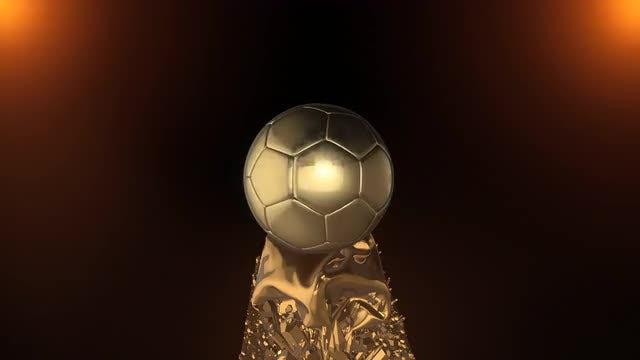 Golden Ball: Stock Motion Graphics