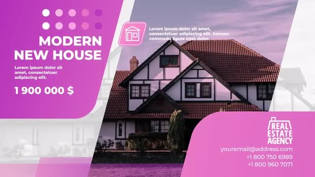 Stylish Real Estate Promo: After Effects Templates