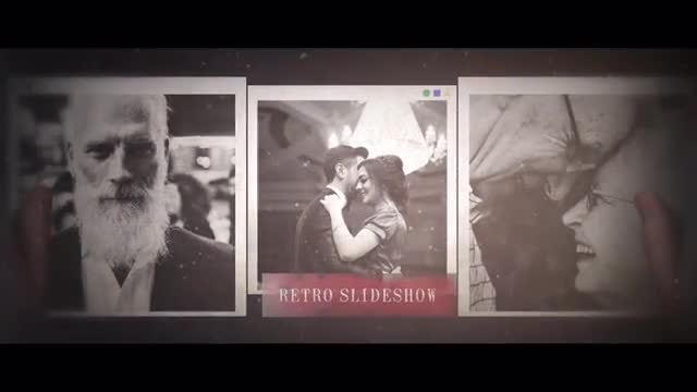 Family Story - Retro Slideshow: After Effects Templates