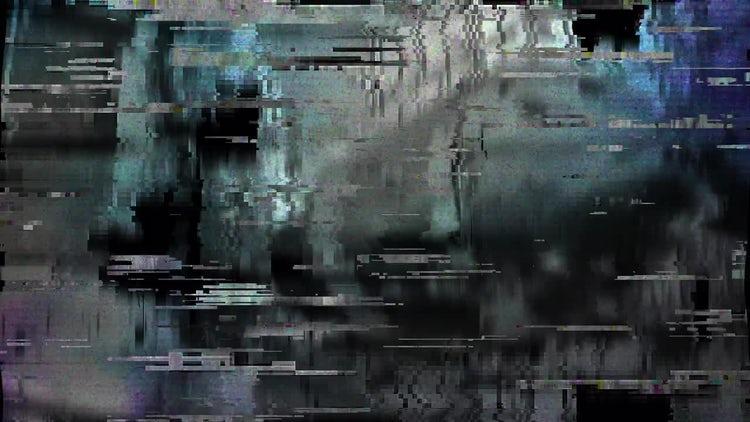 TV Glitch: Stock Motion Graphics