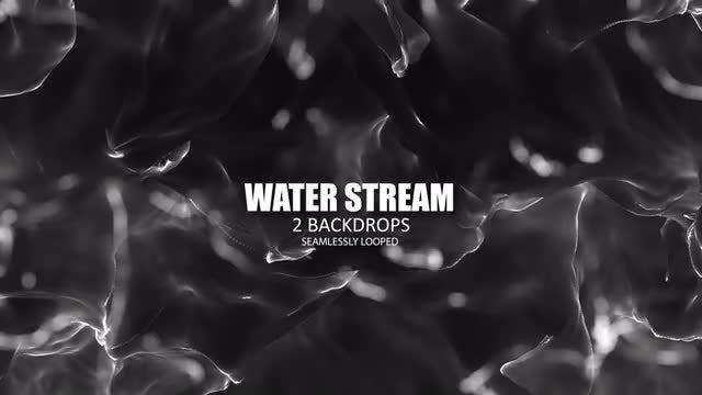 Water Stream: Stock Motion Graphics