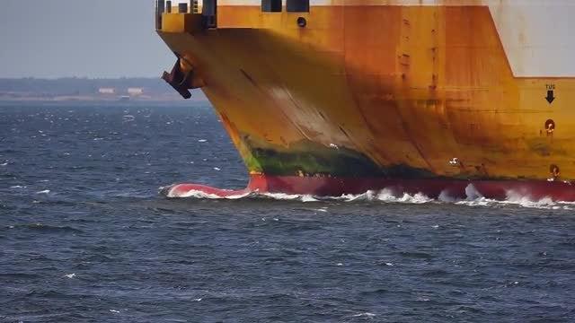 Cargo Ship: Stock Video
