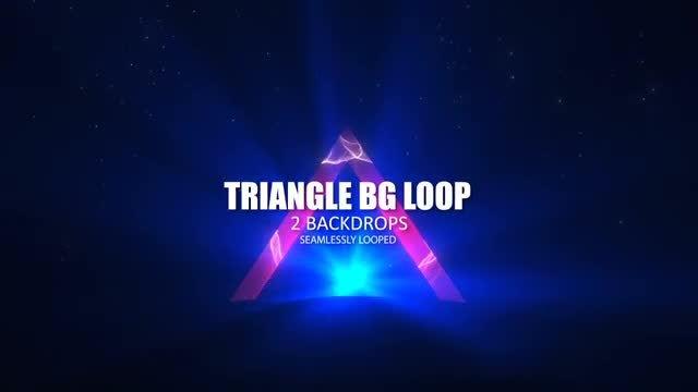 Triangle BG Loop: Stock Motion Graphics