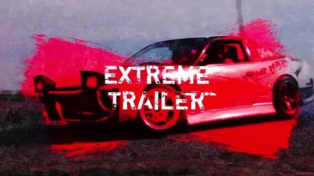 Extreme Grunge Trailer: After Effects Templates