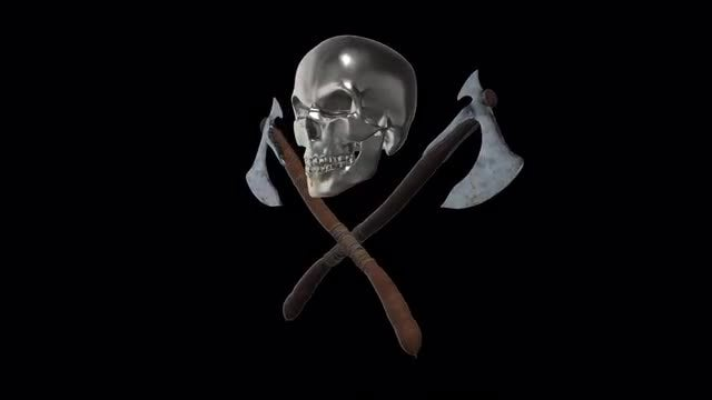 Pirate Axes: Stock Motion Graphics