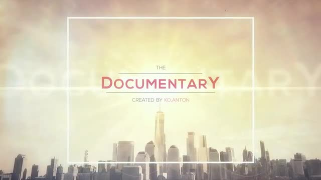 Documentary Intro: After Effects Templates