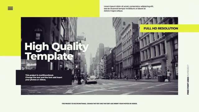 Creative Urban Opener: Premiere Pro Templates