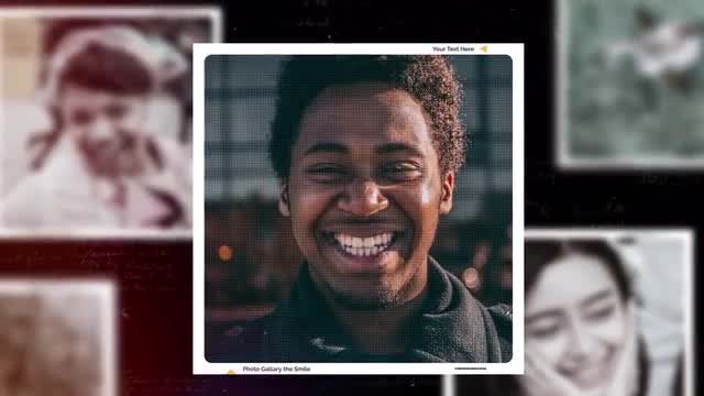 Photo Gallery The Smile: Premiere Pro Templates