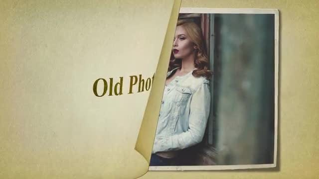 Old Photo Album: After Effects Templates