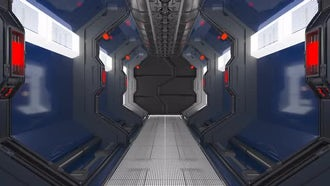 Sci-fi Corridor: Motion Graphics