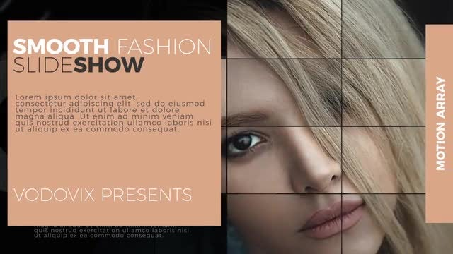 Smooth Fashion Slide: After Effects Templates