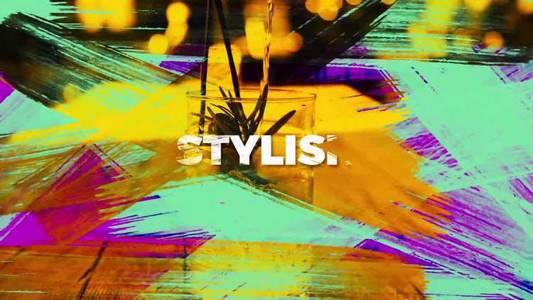 Colorful Stylish Opener: After Effects Templates