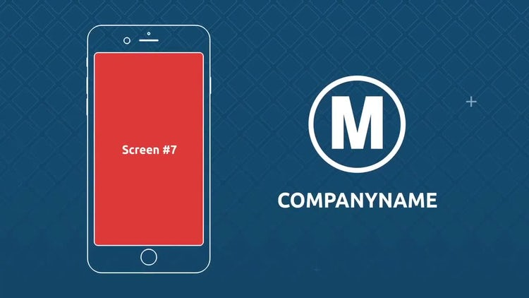 Mobile smartphone application promo: After Effects Templates