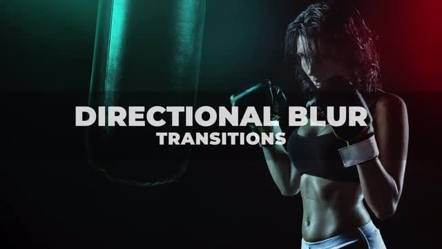 Directional Blur Transitions: Final Cut Pro Templates