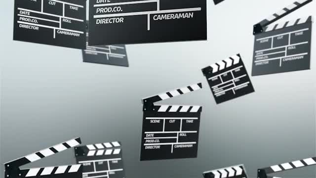 Clapperboards: Stock Motion Graphics
