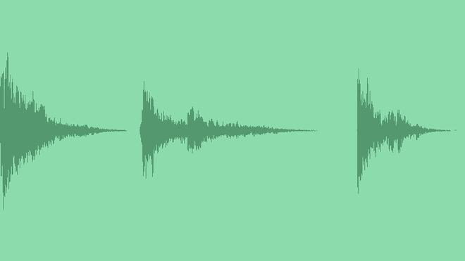 Demolition Impacts: Sound Effects